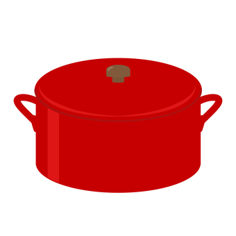 Both hands pot _ Red _ 02