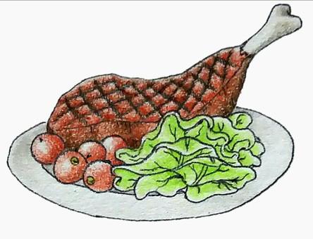 Bone steak