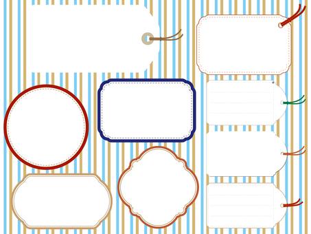 Frame tag color