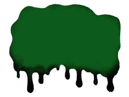 ハロウィン ドロリ フレーム 緑