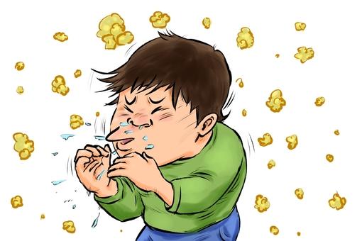 Sneeze 3 pollen