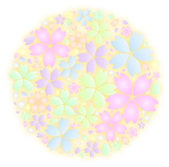 벚꽃 구슬