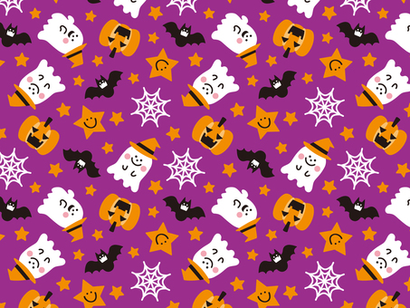 Halloween pattern colorful