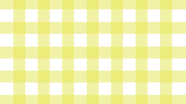 Lemon color check eye catch (16: 9