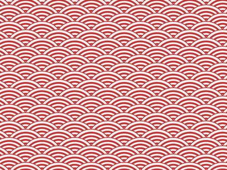 ai Japanese Pattern Qinghai Wave Pattern Swatch with Background 4