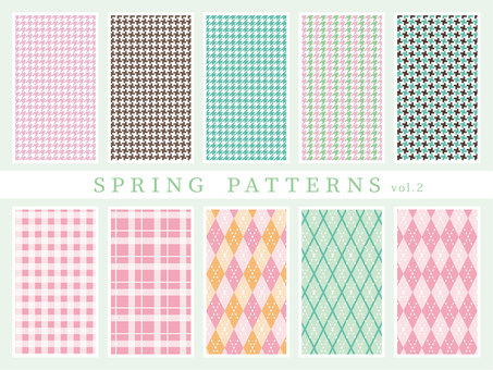 SPRING PATTERNS vol2