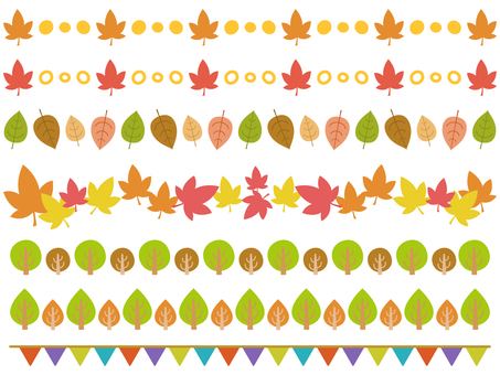 Autumn's line large set!