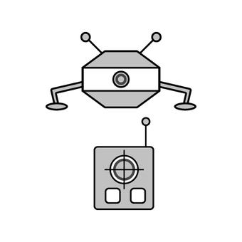 Drone and remote control