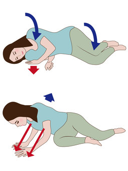 How to get up from the futon
