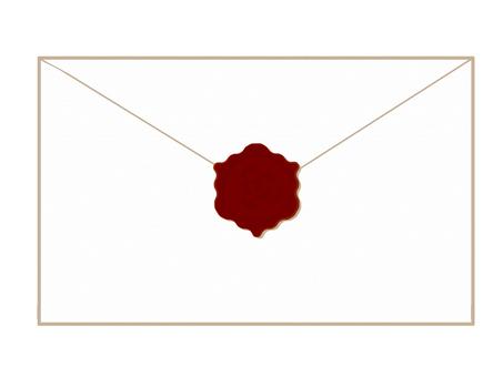 Letter sealing stamp