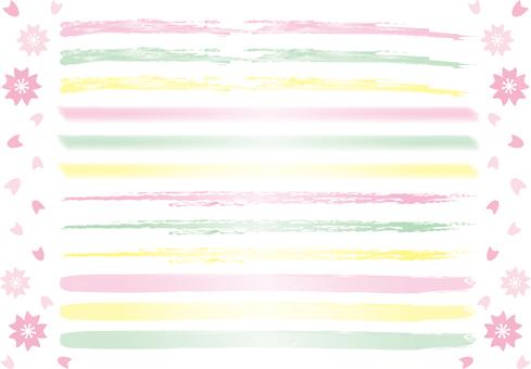 Spring color pen