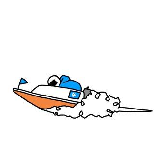 Racing boat 4