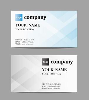 Business Card Design Square