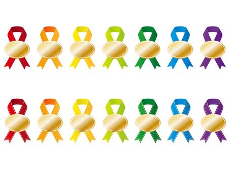 Various ribbons 10