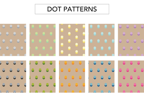 (Background transparent) dot pattern