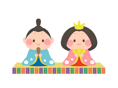 Simple Hina doll