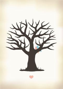 Wedding Tree Sepia (no character)