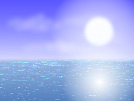 Post Card Sea and Sun