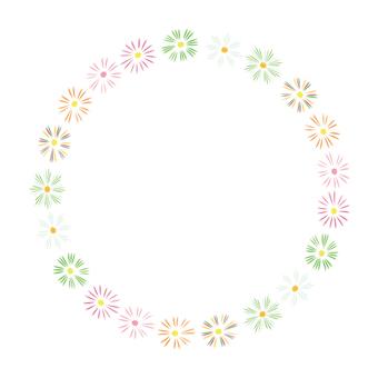 Circular material -196