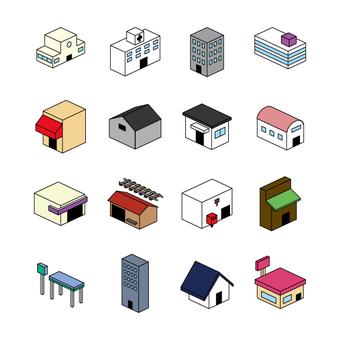 Building icon (color)