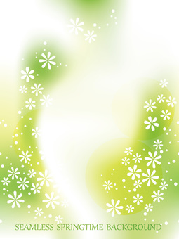 Seamless spring background illustration