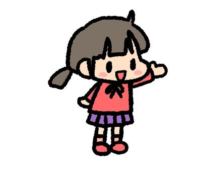Children girl 3