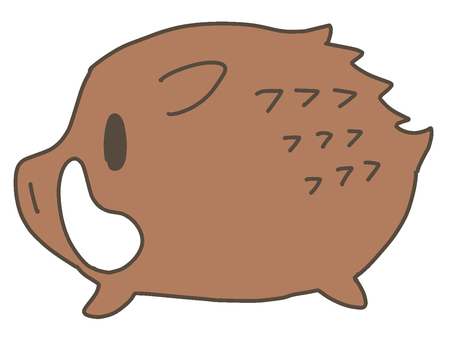 Deformed boar
