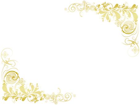 Çerçeve altın