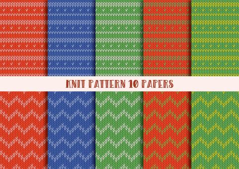 Knit Pattern Set
