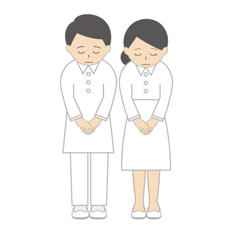 Medical staff (Reward pose)