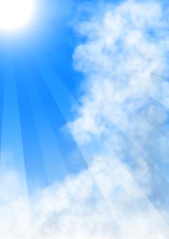 여름 하늘