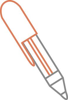 Ballpoint pen (red)