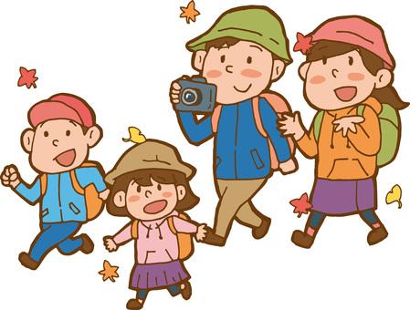 秋の行楽 ハイキング