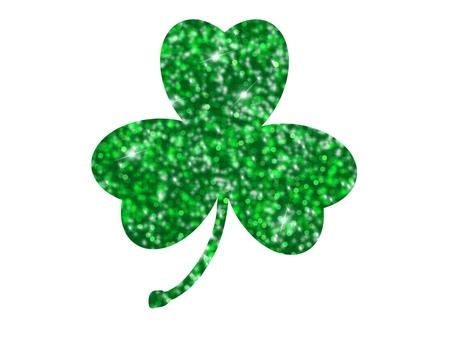 Irish sparkly shamrock