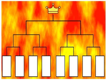 Tournament table
