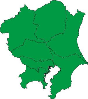Kanto district_ green