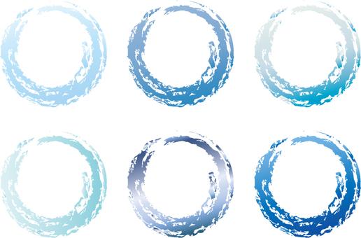 Maru's blue circle