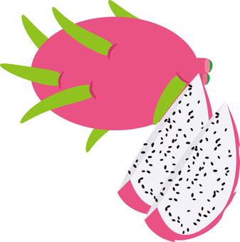 Food Series Fruit Dragon fruit
