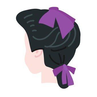 Ribbon hair ornament