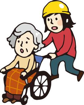 Evacuation (Elderly 1)