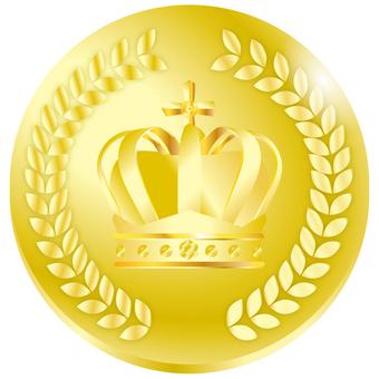 Medal crown