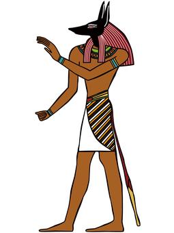 エジプト イラスト アヌビス10
