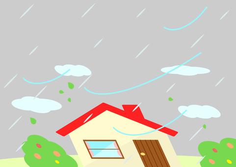 家 庭 暴風雨