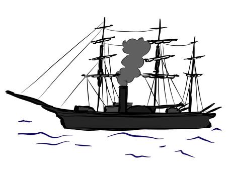 Black ship image