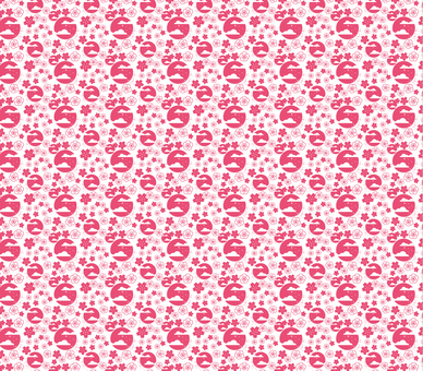 Cherry blossoms pattern 3