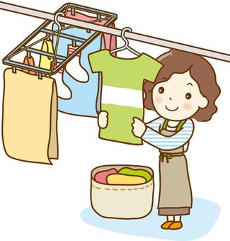 洗衣女人02