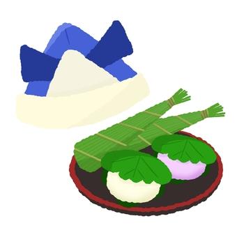 Children's Day Kabuto and Food