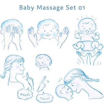 Baby massage 01