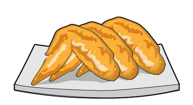 Nagoya specialty - chicken wings
