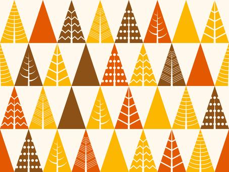 Tree seamless pattern 01